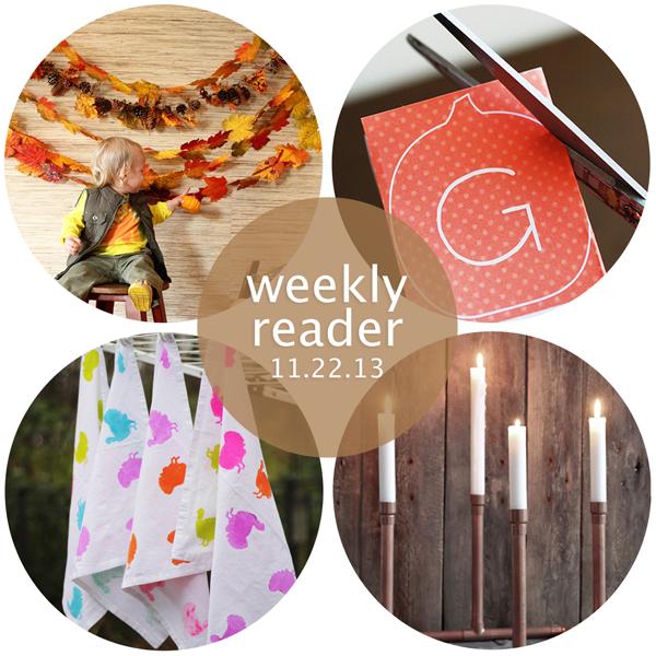 Weekly Reader 11.22.13 | Hands Occupied