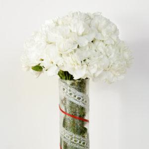 Simple Ribbon Vase DIY