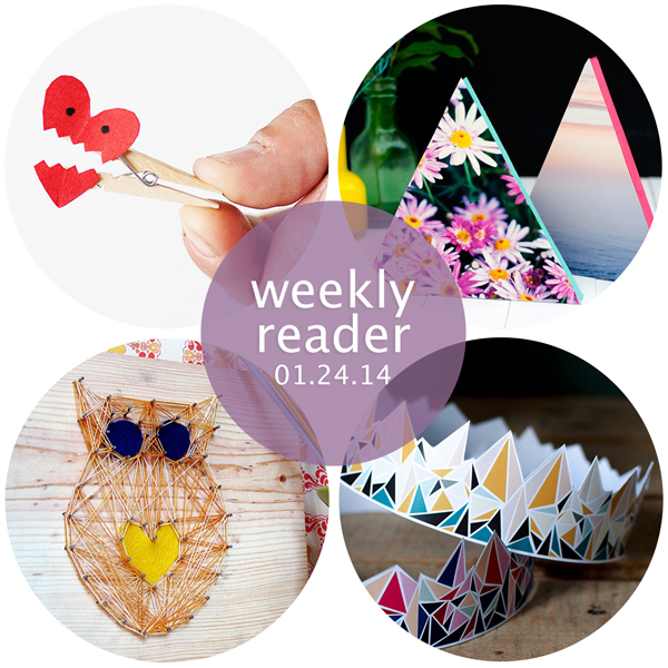 Weekly Reader 01.24.14 | Hands Occupied