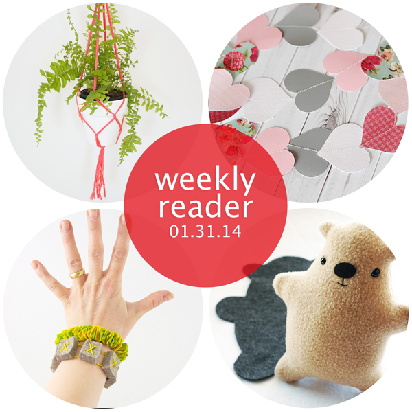 Weekly Reader 01.31.14  + A couple announcements | Hands Occupied