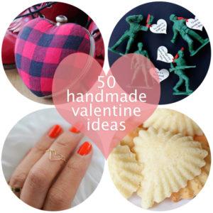 50 Handmade Valentine Ideas