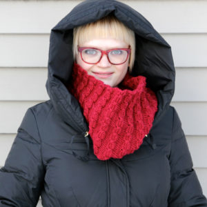 All Cables Cowl Knitting Pattern at Hands Occupied