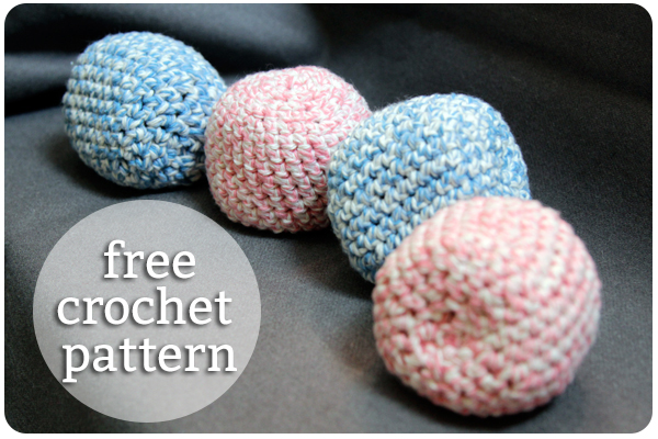 Hacky Sack Crochet Pattern at Hands Occupied