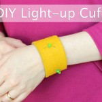 DIY Light-Up Cuff Bracelet