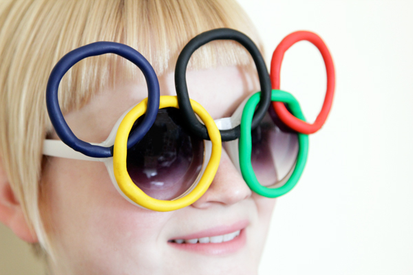 Olympic Rings Sunglasses at Hands Occupied