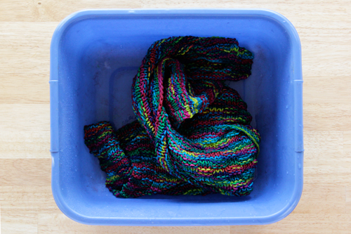 These Colors Won't Run: How to set yarn color