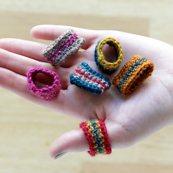 Crochet Ring : Crochet Ring DIY with Free Pattern at Hands Occupied