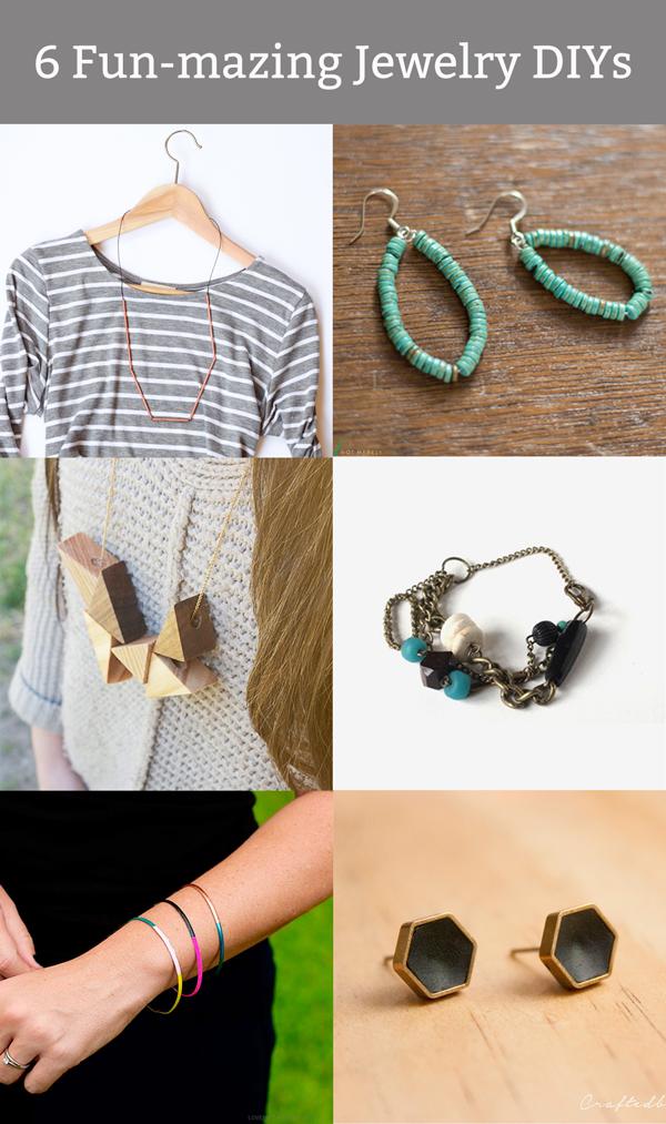 Fun-mazing Jewelry DIYs via Hands Occupied