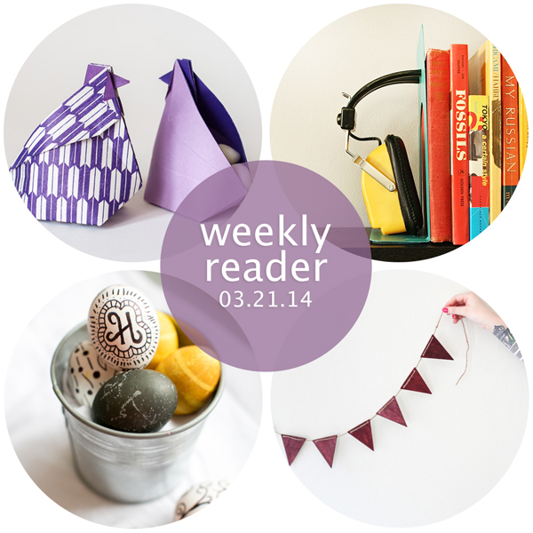 Weekly Reader 03.21.14 | Hands Occupied