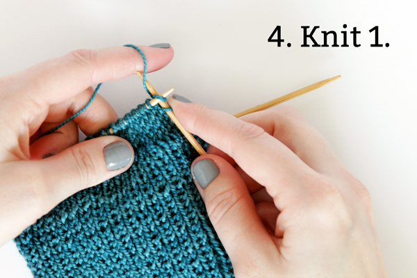 Knit Along Day 2: Heel Flap | Hands Occupied