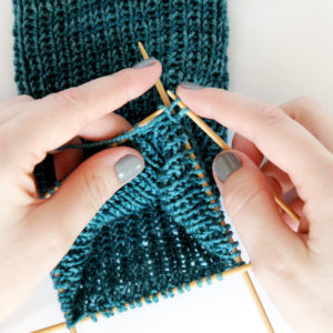 Knit Along Day 2: Heel Flap