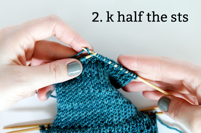 Knit Along Day 3: The Heel Turn | Hands Occupied