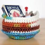 Crochet Trinket Basket