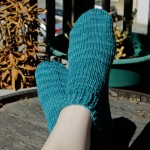 Shorty Socks Knitting Pattern at handsoccupied.com
