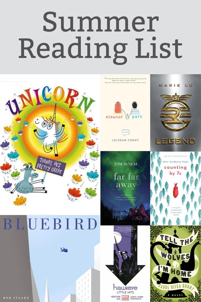 Summer Reading List at handsoccupied.com