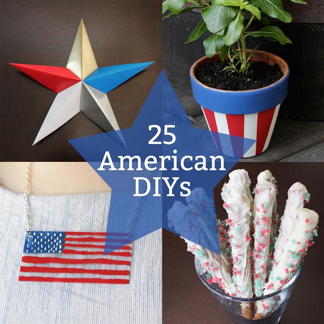 25 American DIYs at handsoccupied.com