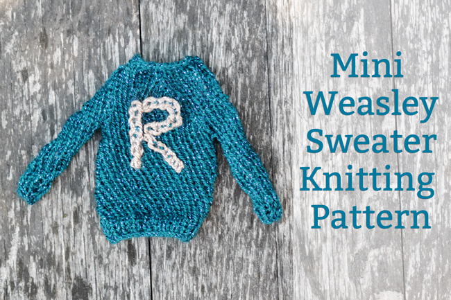 Mini Harry Potter Sweater Pattern at handsoccupied.com