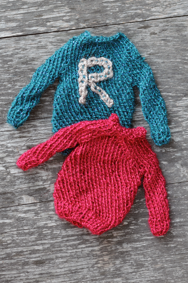 Mini Harry Potter Sweater Pattern