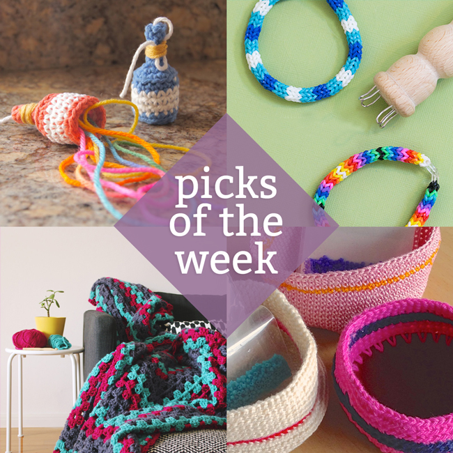 Knitting & Crochet Picks of the Week at handsoccupied.com