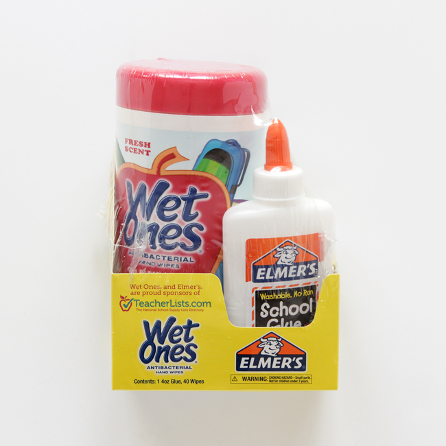Elmer's / Wet Ones Combo Pack, Available at Select Target Stores | handsoccupied.com
