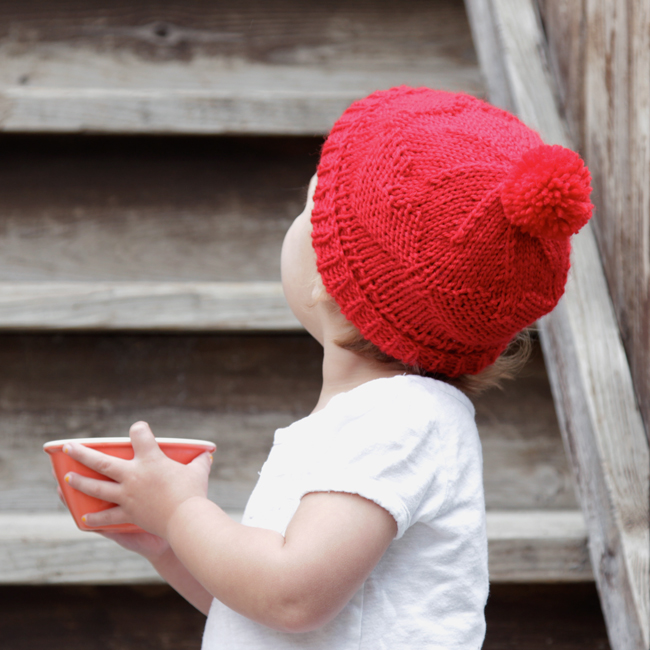 Red Hats for Newborns Pattern - free pattern for the American Heart Association's annual Little Hats Big Hearts program