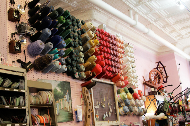 Chicago Yarn Crawl: Sifu Design Studio | handsoccupied.com