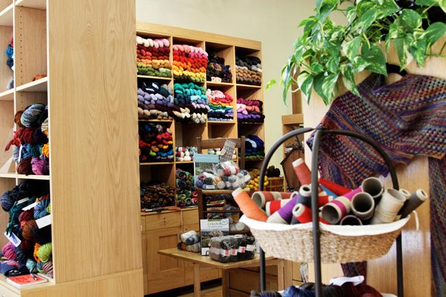Chicago Yarn Crawl: Windy Knitty | handsoccupied.com