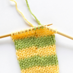How to knit perfect stripes