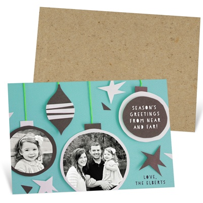 Craft-Inspired Holiday Cards from Pear Tree Greetings