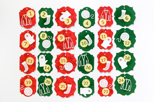 A Knitter's Advent Calendar at HandsOccupied.com