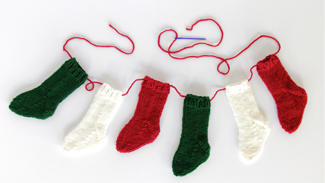 Mini Christmas Stocking Knitting Pattern Free These Mini Stockings Can be