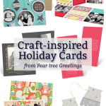 Craft-Inspired Holiday Cards & A Double Giveaway!