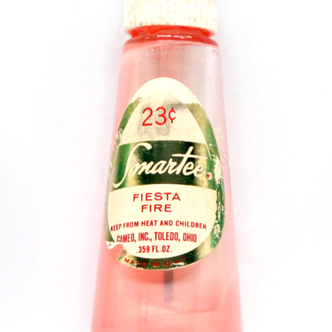 VIntage Smartee Nail Polish in Fiesta Fire, 29 cents via handsoccupied.com