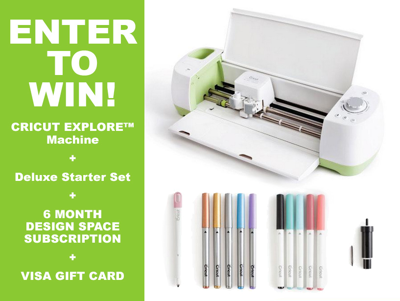 Cricut Explore Giveaway | Hands Occupied