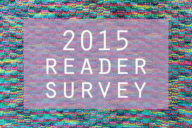 2015 Hands Occupied Reader Survey