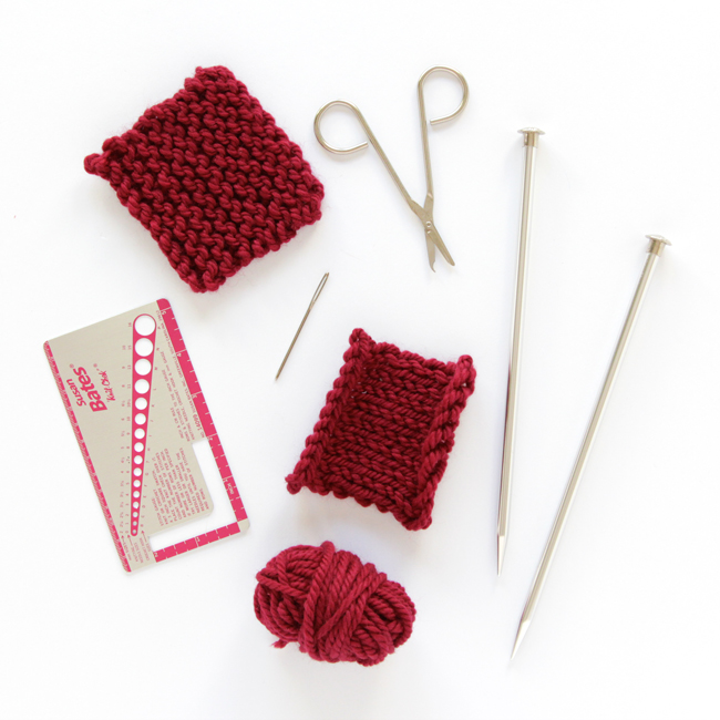 Knitting Materials For Beginners : Knewbies supply list basic cast on