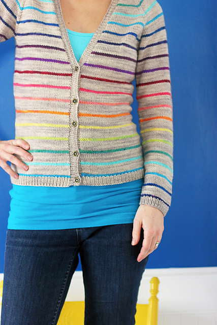 Things to Knit I - Lifesavers Cardigan