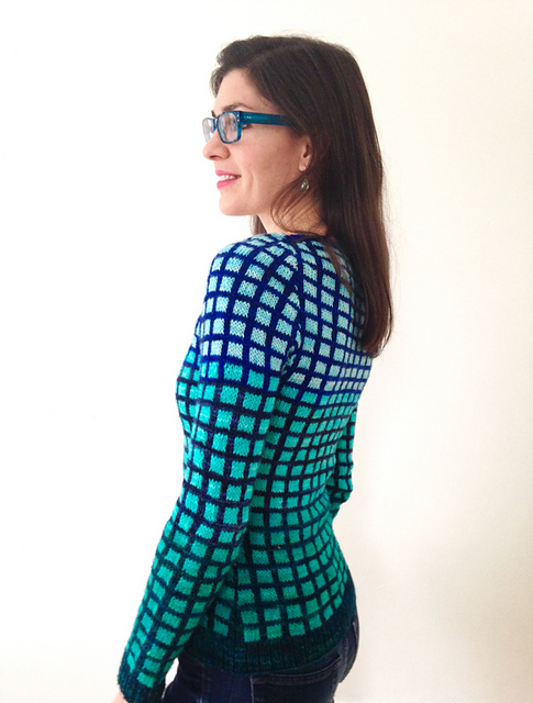 Polar Prism Pullover by Jennifer Beaumont