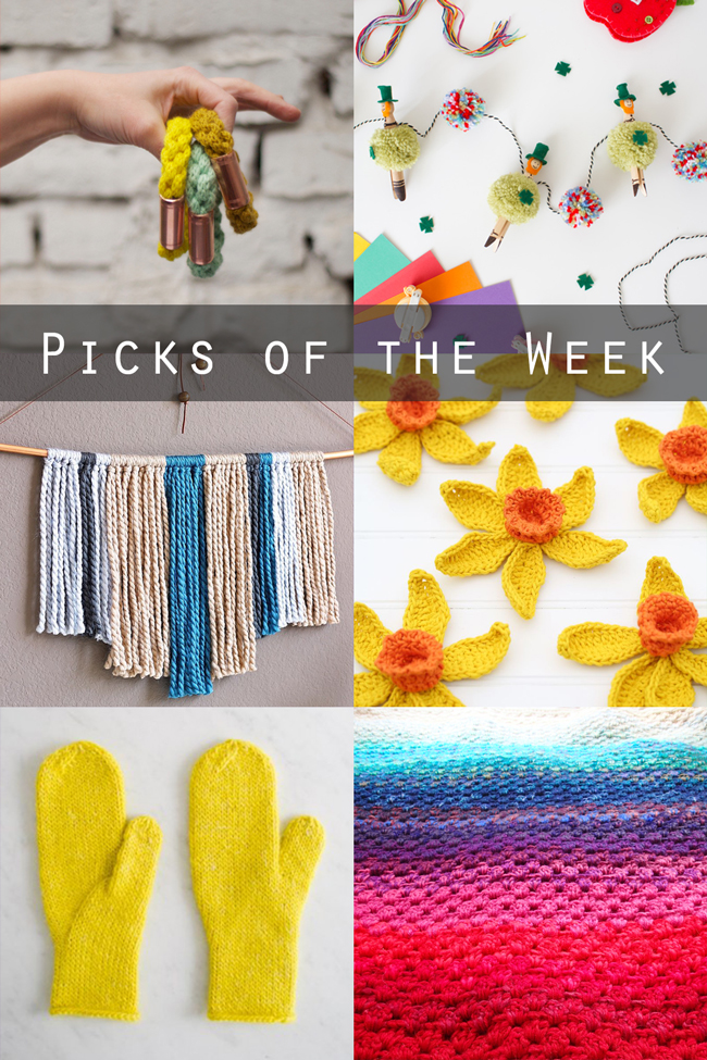 Picks of the Week for March 13, 2015 at handsoccupied.com