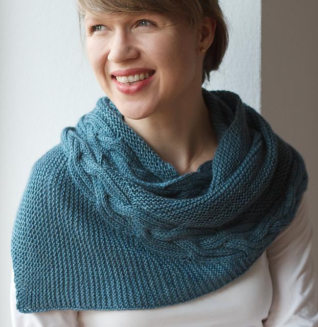 Braidsmaid shawl by Martina Behm