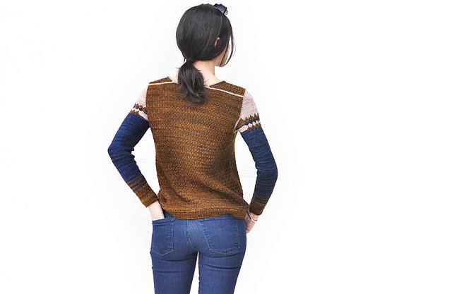 RhombingAround sweater by La Maison Rililie