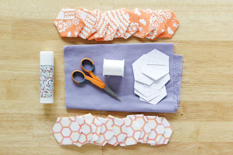 How to do English paper piecing