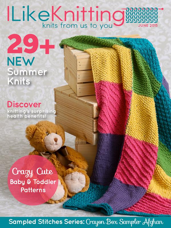 I Like Knitting magazine - June 2015 issue