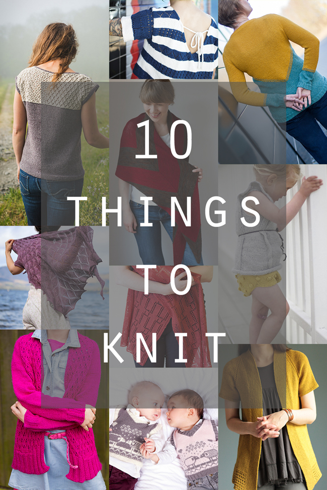 10 Inspiring new patterns to cast on - click through for how to get your hands on them all!