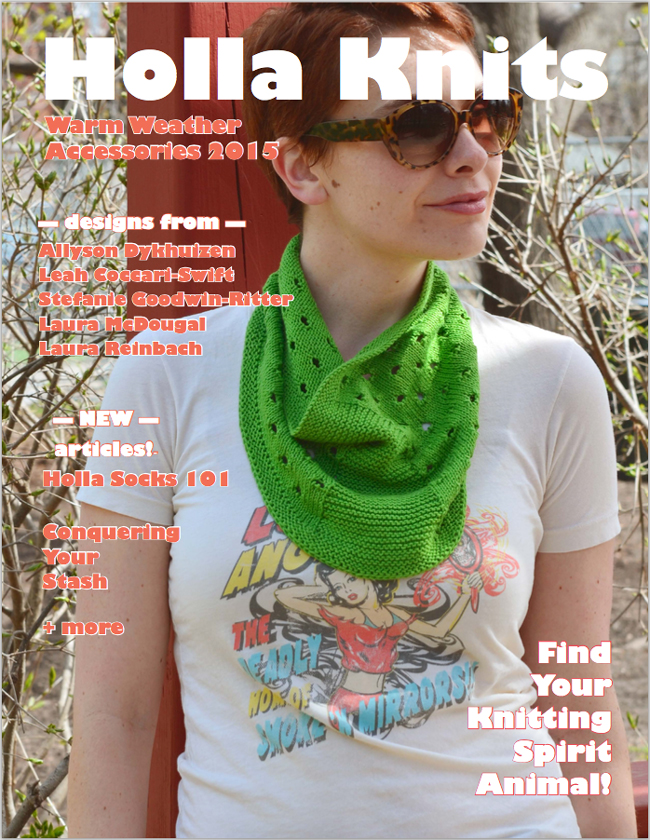 Knit Warm Weather Accessories with Holla Knits! - Holla Knits Warm Weather Accessories 2015