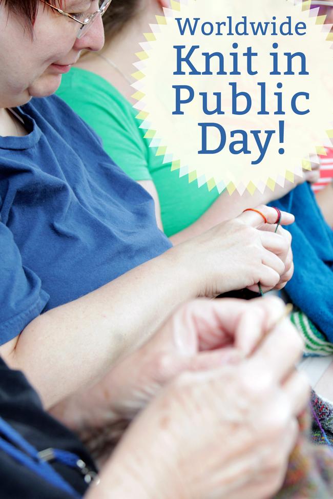 Worldwide Knit in Public Day!