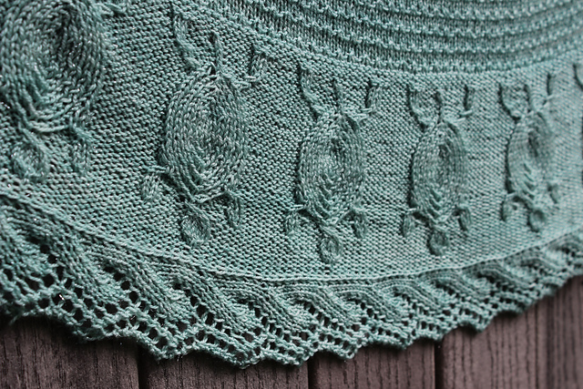 The Turtles' Journey Shawl by Heather Anderson