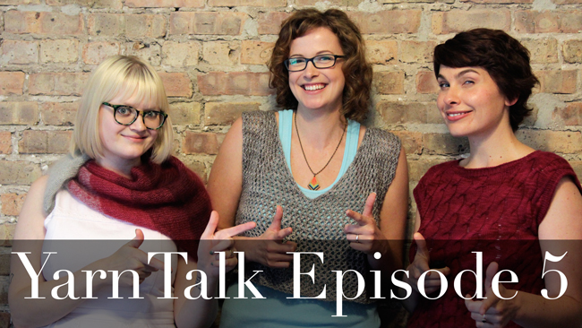 YarnTalk episode 5 is live and features Courtney Spainhower, brioche trends , & Gregory Patrick of Mad Man Knitting!