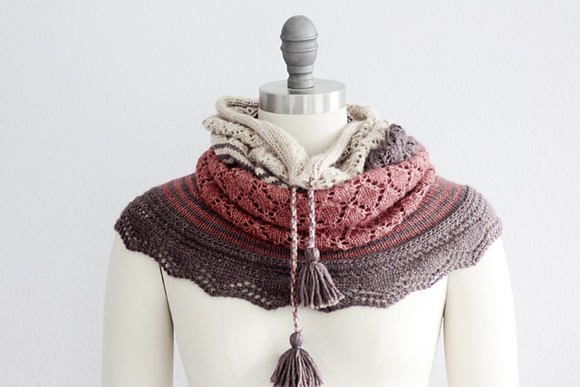 Chilkat Cowl by Rosemary Hill