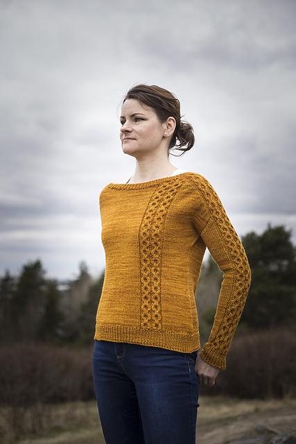 Someday Sweater by Meiju K-P